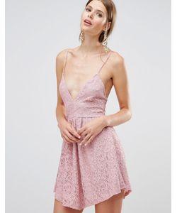 Oh My Love | Кружевное Платье Мини