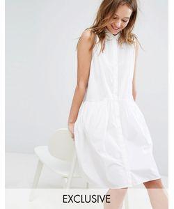 Monki | Платье-Рубашка Без Рукавов