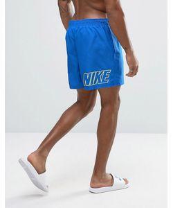 Nike | Шорты Для Плавания С Принтом Логотипа Сзади