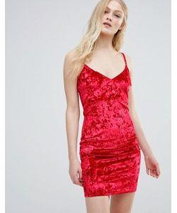 Daisy Street | Платье Из Мятого Бархата На Бретельках