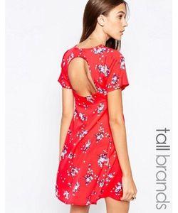 Influence Tall | Чайное Платье С Открытой Спиной