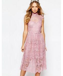 Body Frock | Кружевное Платье С Цветочным Узором Wedding