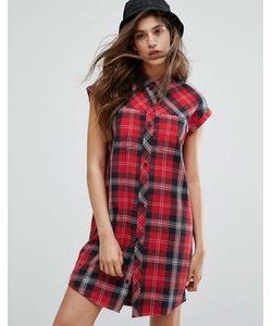 Carhartt WIP | Leila Sleeveless Tartan Shirt Dress