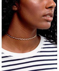 Asos | Ожерелье-Чокер Из Цепочки С Плетеным Эффектом