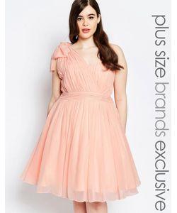 Forever Unique Plus | Платье Для Выпускного На Одно Плечо Со Складками
