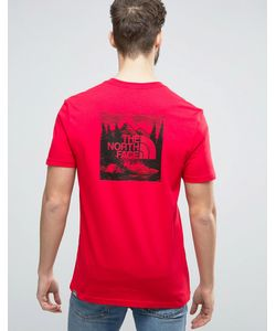 The North Face | Футболка С Принтом Сзади Redbox Celebration