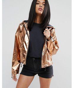 Asos | Укороченная Куртка Металлик