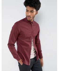 Asos | Узкая Рубашка Из Эластичной Саржи