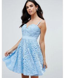 FOREVER UNIQUE | Платье Для Выпускного С Вырезом Сердечком