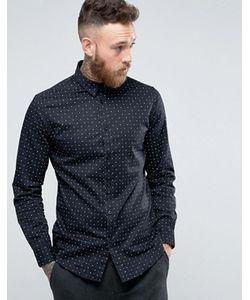 Selected Homme | Рубашка Слим С Принтом