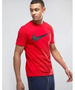 Nike | Футболка С Логотипом-Галочкой 707456-657