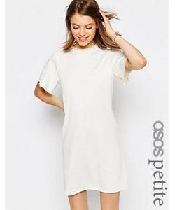 ASOS PETITE | Легкое Трикотажное Платье С Короткими Рукавами