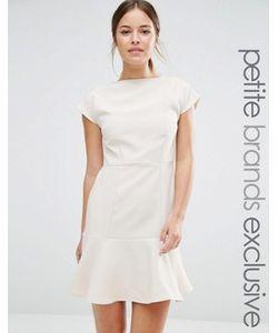 Alter Petite | Платье С Баской По Краю