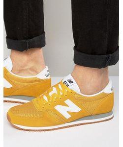 New Balance | Желтые Кроссовки Для Бега В Стиле 70-Х 420 U420ywg