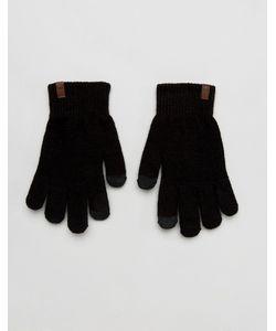 Timberland | Черные Трикотажные Перчатки Для Сенсорных Гаджетов Magic
