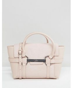 Fiorelli | Миниатюрная Сумка-Тоут Бледно-Розового Цвета С Металлической Планкой Barbican