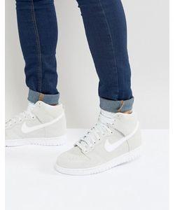 Nike | Высокие Кроссовки Dunk 904233-100