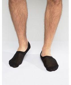 Asos | Черные Носки Невидимки
