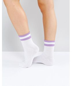 Monki | Спортивные Носки С Полосками