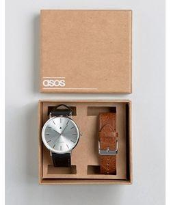 Asos | Часы Со Сменными Ремешками