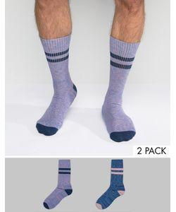 Asos | Комплект Из 2 Пар Спортивных Носков