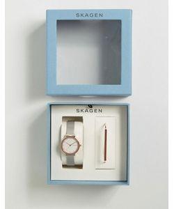 Skagen | Часы И Браслет Ancher Anette