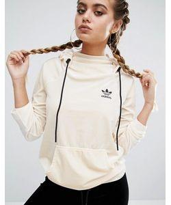 Adidas   Бархатное Худи Через Голову