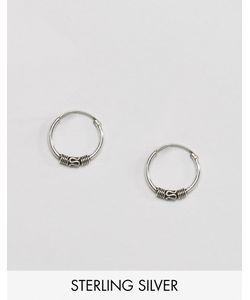 Reclaimed Vintage | Миниатюрные Серьги-Кольца Inspired