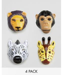Temerity Jones | Карнавальные Маски С Изображением Животных