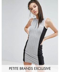 Fila Petite | Облегающее Платье Мини Без Рукавов В Стиле Колор Блок С Полосками