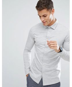 Selected Homme | Трикотажная Рубашка Узкого Кроя
