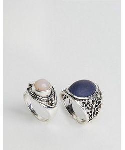 DesignB London | Design B Chunky Stone Rings