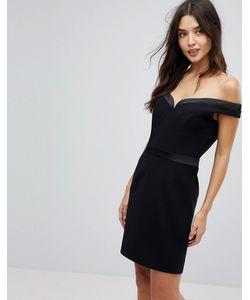 FOREVER UNIQUE   Платье Мини С Открытыми Плечами