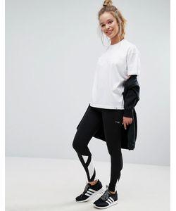 Adidas | Черные Леггинсы С Тремя Полосками На Манжетах Originals Berlin