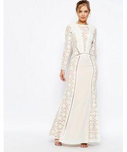 JARLO | Платье Макси С Длинными Рукавами