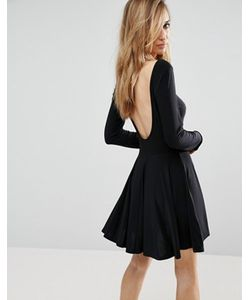 Club L | Короткое Приталенное Платье С Вырезом На Спине