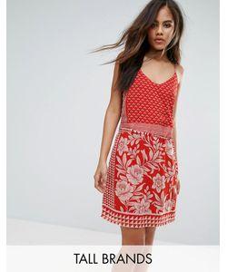 Vero Moda Tall | Платье На Бретельках С Принтом