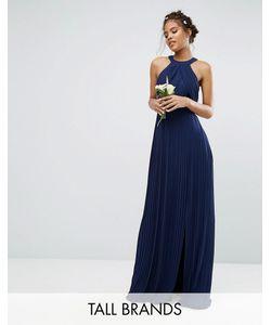 TFNC Tall | Плиссированное Платье Макси Wedding