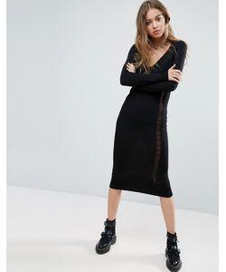 Asos | Вязаное Платье Со Спущенными Петлями