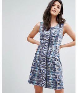Lavand. | Платье На Молнии С Принтом Lavand