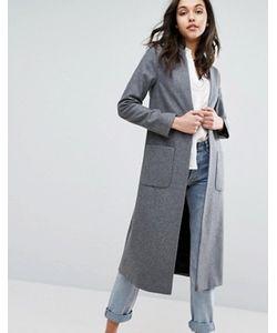 Helene Berman | Легкое Длинное Пальто С Добавлением Шерсти
