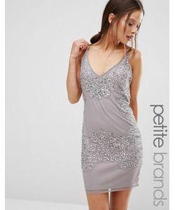 Boohoo Petite | Облегающее Платье С Отделкой Бисером Boutique