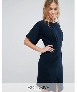 Closet London | Платье Миди С Завязкой Сзади И Разрезом Спереди Closet
