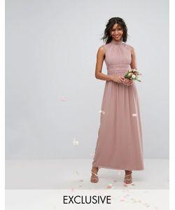 TFNC | Платье Макси С Кружевной Отделкой Wedding