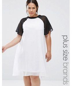 Praslin | Свободное Платье В Стиле Колор Блок Plus