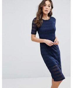BCBGMAXAZRIA | Кружевное Облегающее Платье Bcbg