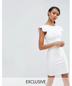 Vesper | Платье-Футляр С Фигурными Рукавами