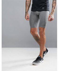 Nike Training   Черные Удлиненные Компрессионные Шорты 703086-091
