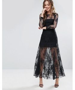 Glamorous | Платье С Кружевным Верхним Слоем