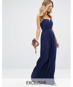 TFNC   Платье-Бандо Макси Wedding